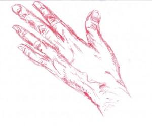 Lewa dłoń